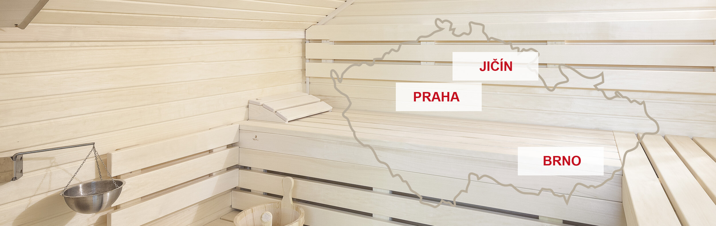 sauna showroom